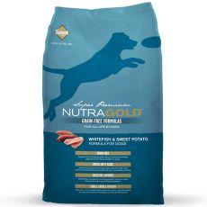NUTRA GOLD Whitefish&Sweet Potato GRAIN FREE - 2,25 kg