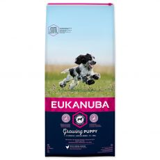 EUKANUBA PUPPY Medium Breed - 15 kg