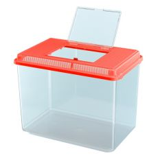 Plastová prepravka Ferplast GEO MAXI - červená, 21L