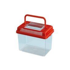 Plastová prepravka Ferplast GEO MEDIUM - červená, 2,5L
