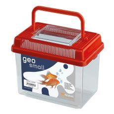 Plastová prepravka Ferplast GEO SMALL - červená, 1L