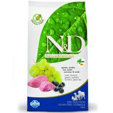 Farmina N&D dog GF ADULT MINI Lamb & Blueberry 2,5 kg