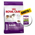 ROYAL CANIN GIANT ADULT 15 kg + 4 kg GRATIS