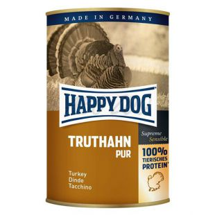 Happy Dog Pur - Truthahn 400g / morka