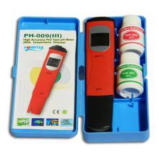 pH / °C - meter s kalibračnými roztokmi