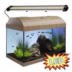 Akvárium STARTUP 40 LED Extra 2x4,3W - ROVNÉ - BUK