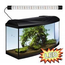 Akvárium STARTUP 60 LED Expert 13W - OBLÚK - ČIERNE
