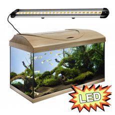 Akvárium STARTUP 60 LED Extra 2x7,2W - ROVNÉ - BUK