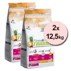 Trainer Fitness3 Junior MEDIUM MAXI - kačka s ryžou 2x12,5 kg