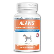 ALAVIS MSM Glukosamin sulfát - na zdravé kĺby a fyzickú kondíciu, 60tbl.
