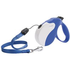 Vodítko Amigo Medium do 25kg - 5m lanko, modro béžové