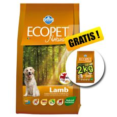 Farmina MO P ECOPET N dog LAMB MINI 12 + 2 kg ZADARMO