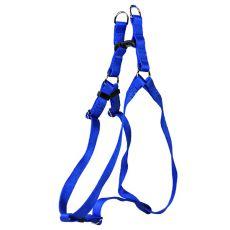 Postroj pre psy, nylonový - modrý, 53 - 68 cm