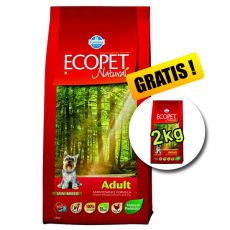 Farmina MO P ECOPET N dog ADULT MINI 12 kg + 2 kg GRATIS