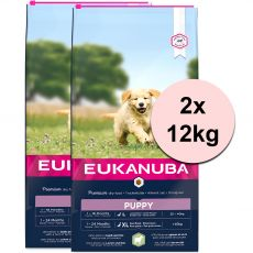EUKANUBA PUPPY JUNIOR Lamb & Rice - 2 x 12 kg
