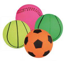 Loptička pre psov - športová gumená - 3,5 cm