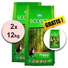 Farmina MO P ECOPET N dog PUPPY MAXI 2 x 12 kg + 4 kg GRATIS