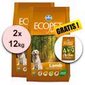 Farmina MO P ECOPET N dog LAMB MEDIUM 2 x 12kg + 4kg GRATIS