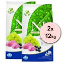 Farmina N&D dog GF ADULT Lamb & Blueberry 2 x 12 kg