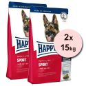 Happy Dog Supreme Fit & Well Adult Sport 2 x 15 kg