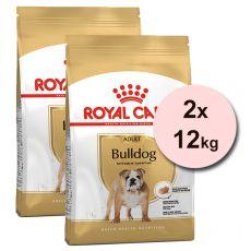 ROYAL CANIN Bulldog Adult granule pre dospelého buldoga 2 x 12 kg