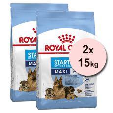 Royal Canin Maxi Starter Mother&Babydog granule pre gravidné alebo dojčiace suky a šteňatá 2 x 15 kg