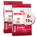 ROYAL CANIN MEDIUM JUNIOR 2 x 15 kg