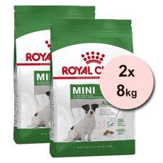 Royal Canin Mini Adult 8+ granuly pre dospelé starnúce psy 2 x 8 kg