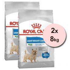 ROYAL CANIN Mini Light Weight Care diétne granuly pre psy 2 x 8 kg