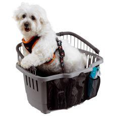 Prenosný box pre psa na bicykel ATLAS BIKE 20 RAPID - 47 x 35,5 x 34,5 cm