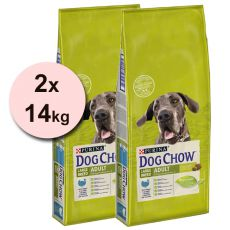 PURINA DOG CHOW ADULT LARGE BREED Turkey 2 x 14 kg