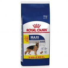 ROYAL CANIN Maxi Adult granule pre dospelé veľké psy 15kg + 3kg