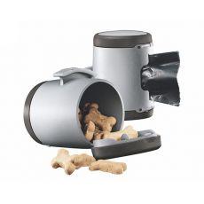 Flexi Vario Multi Box zásobník, tmavosivý + vrecúška na odpad