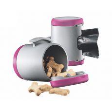 Flexi Vario Multi Box zásobník, ružový + vrecúška na odpad