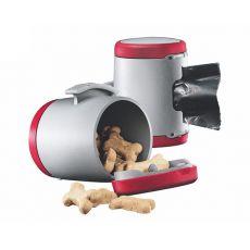 Flexi Vario Multi Box zásobník, červený + vrecúška na odpad