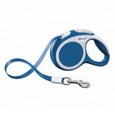 Flexi Vario XS vodítko do 12kg, 3m popruh - modré