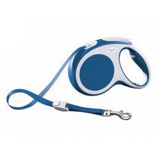 Flexi Vario M vodítko do 25kg, 5m popruh - modré