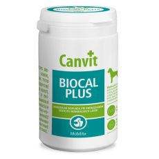 Canvit Biocal Plus - kalciové tablety pre psov, 1kg