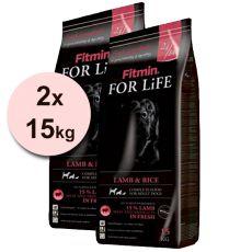 Fitmin FOR LIFE Adult Lamb & Rice 2 x 15kg + DOPRAVA ZDARMA