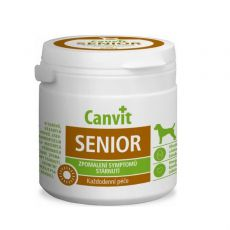 Canvit Senior - vitamínový prípravok proti starnutiu pre psov 100 tbl. / 100 g