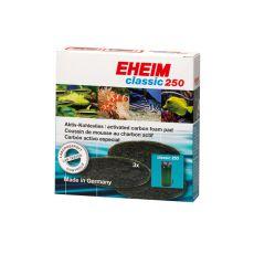 EHEIM filtračná vložka s aktívnym uhlím pre filter Classic 250 (2213) - 3 ks