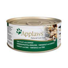 Applaws Cat - konzerva pre mačky s tuniakom a morskými riasami, 70g