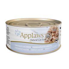 Applaws Cat - konzerva pre mačky s tuniakom a syrom, 70g