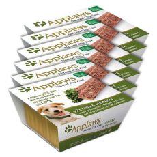 Applaws Paté Dog - paštéta pre psov s jahňacím mäsom a zeleninou, 6 x 150g