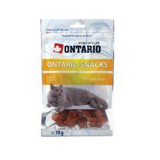Kocky z kuracieho mäsa - pamlsky pre mačky ONTARIO, 70 g