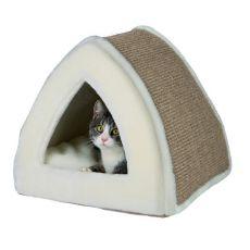 Pelech pre mačku Jessa, béžový - 40 x 40 x 38 cm