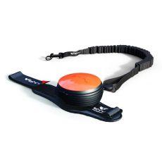 Lishinu Bungee handsfree vodítko do 30 kg, 3m - oranžové