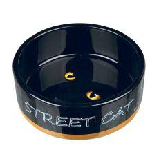 Keramická miska pre mačku Street Cat - 0,3 L