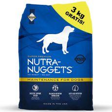 NUTRA NUGGETS Maintenance 15kg + 3kg GRÁTIS
