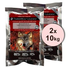 TimberWolf Mediterranean Lamb & Apples LEGENDS 2 x 10 kg